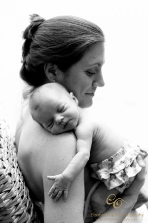 Beautiful Mother Newborn Portrait