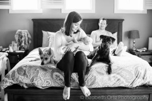 Charlotte Lifestyle Newborn Photographer